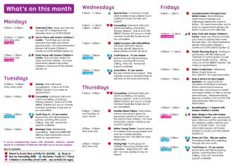 Diary Sheet (May 2016) - Timetable